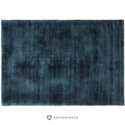 Dark blue viscose carpet (jane) (in box, whole)