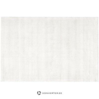 Light gray viscose rug (jane)