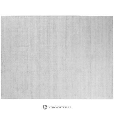 Silver gray viscose carpet (jane) (whole, in a box)