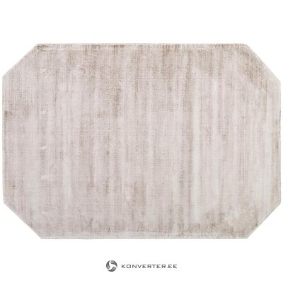 Beige viscose carpet (jane) (box, whole)