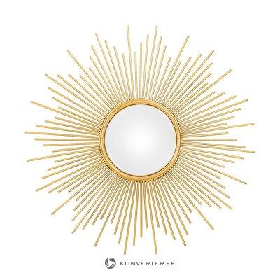 Auksinis dizaino veidrodis (kora)
