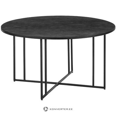 Round solid wood dining table (luca)