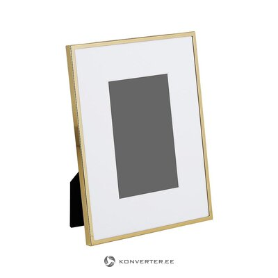 Gold frame picture frame (memento) (whole, in box)