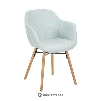 Light blue-brown chair (Fiji) (whole, in box)