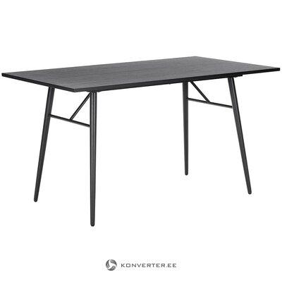 Juodas pietų stalas (žetonas) (sveikas, dėžutėje)