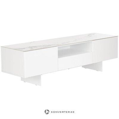 White-gray TV cabinet (fiona)