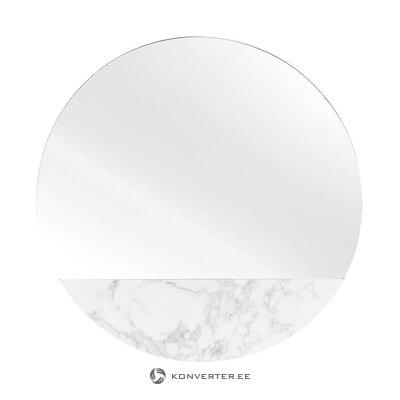 Pyöreä peili marmorijäljitelmällä (Tukholma) (salinäyte)
