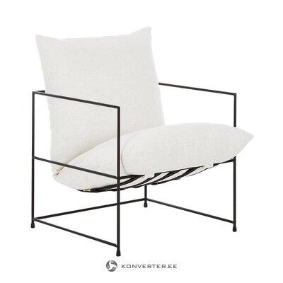 Fotelis su metaliniu rėmu (wayne)