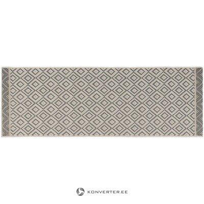 Harmaa-beige matto (laatikko) (laatikko, koko)