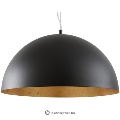 Black-gold ceiling lamp (brad) (whole, hall sample)