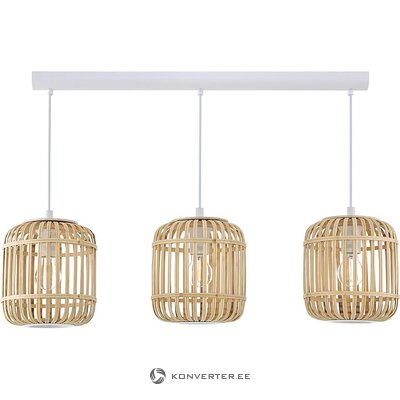 Bamboo pendant light (miraluz) (in box, whole)