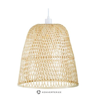 Bamboo ceiling light (eve) (with flaw, in box)