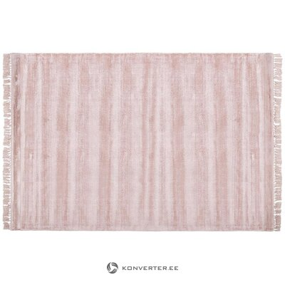 Pink viscose carpet (aria) (whole, in box)