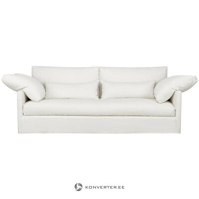 Valkoinen-beige sohva (eva)