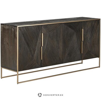 Brown-gold chest of drawers (harry)
