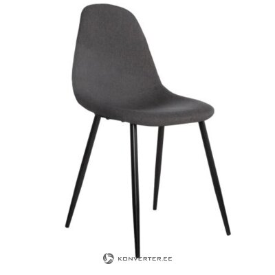 Gray-black chair (whole, hall sample)