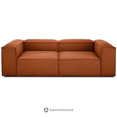 Rausvai ruda modulinė sofa (skrydžio) (dėžutėje, nepažeista)