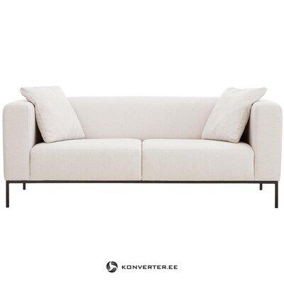 Beige-musta sohva (carrie) (koko, laatikossa)