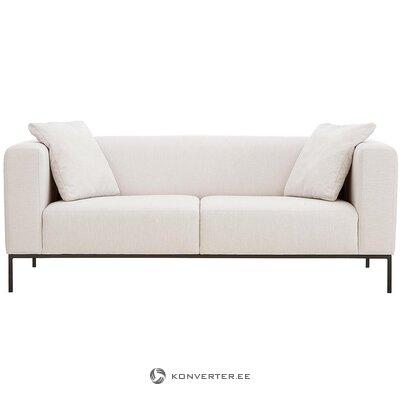 Bēšs-melns dīvāns (Carrie) (viss zāles paraugs)