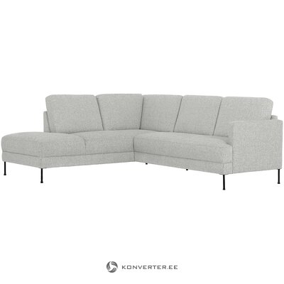 Gray corner sofa (fluente) (intact, sample)