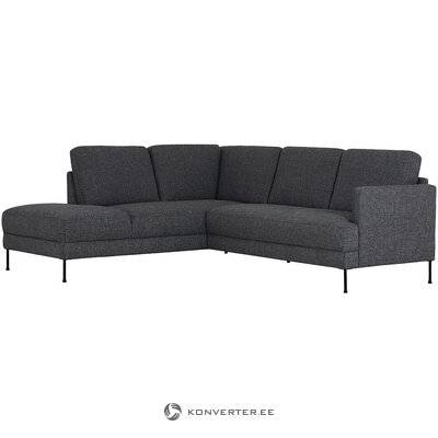 Dark gray corner sofa (fluente) (whole, in box)