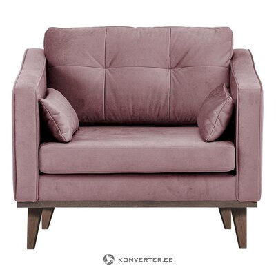 Purple velvet armchair (port reputation)