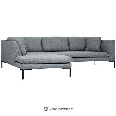 Pilka kampinė sofa (emma)
