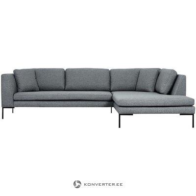 Gray corner sofa (emma)