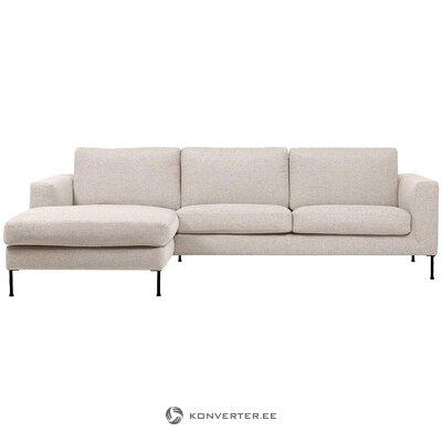 Beige corner sofa (cucita)