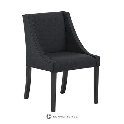 Gray-black armchair (savannah)