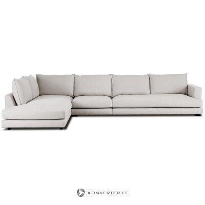 Smėlio spalvos kampinė sofa (tribeca) (dėžutėje, visa)
