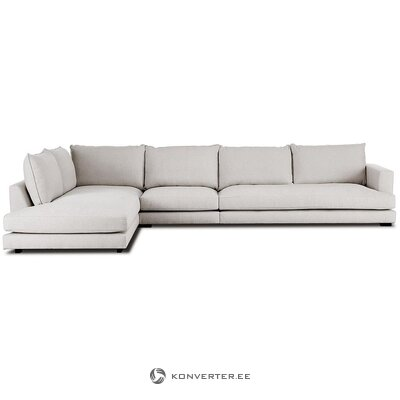 Beige corner sofa (tribeca) (in box, whole)