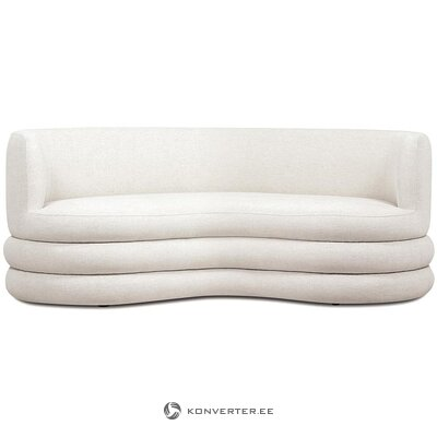 Light beige design sofa (solomon) (whole, in a box)