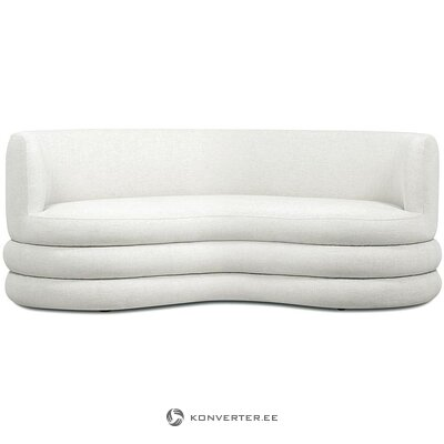 Beige design sofa (solomon) (hall sample, whole)