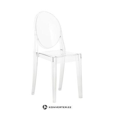 Caurspīdīga dizaina krēsla spoks (kartelis) (ar trūkumiem, Hall paraugs)
