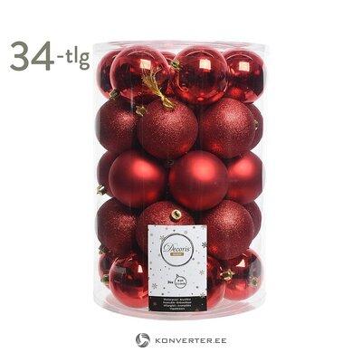 Joulukorusetti 34-osainen (kaemingk) (kokonainen, laatikossa)