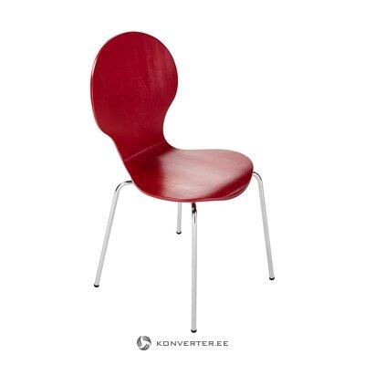 Punainen tuoli (actona) (koko, laatikossa)