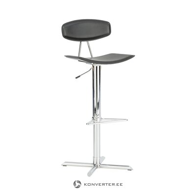 Leather bar stool (actona)