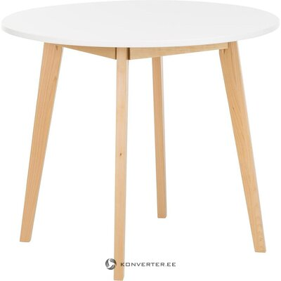 White round dining table (actona) (defective, hall sample)