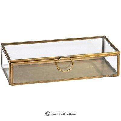 """Dėžutė su auksiniu rėmeliu (""""Broste Copenhagen"""") (visa, dėžutėje)"""