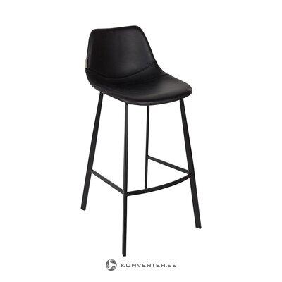 Барный стул черный (голландская кость) (целиком, в коробке)