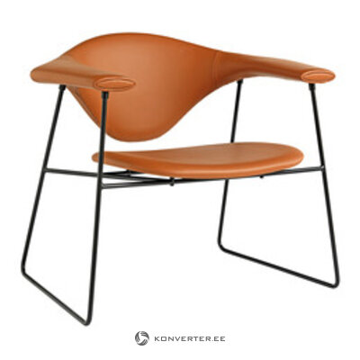 Ādas krēsls (gubi)
