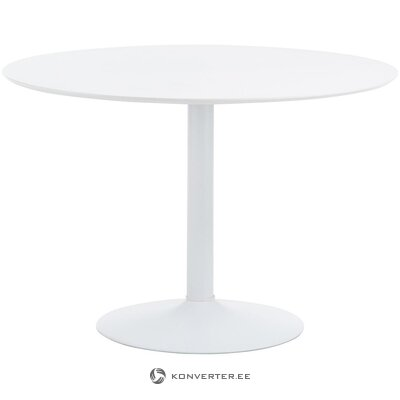 White round dining table (interstil dänemark) (small flaws hall sample)
