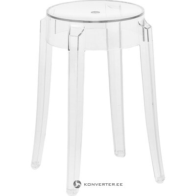Transparent chair ghost (cartel) (with defects. Hall sample)