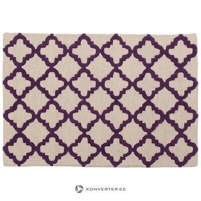 Beige-purple rug (jill & jim) (whole, in box)