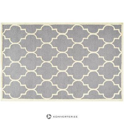 Vaaleanharmaa-kermanvärinen matto (safavieh) (laatikko, kokonainen)