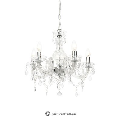Acrylic chandelier (searchlight) (whole, in box)