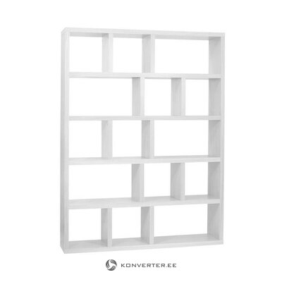 White bookshelf (temahome)