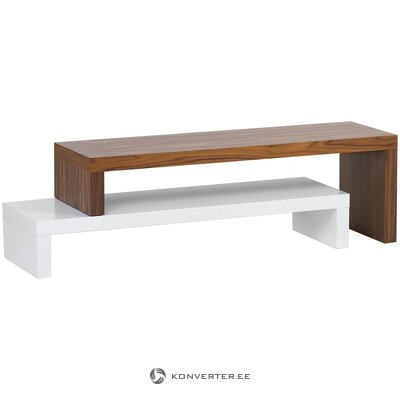 Brown-white TV stand (temahome) (in box, whole)