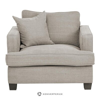Gray armchair (whole, hall sample)